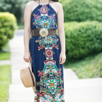 Summer Casual | Abstract Printed Maxi Dress