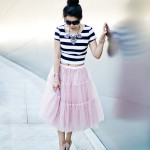 Mirror Mirror| Crop Top + Ballerina Tulle Skirt