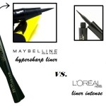Face-Off Review | Maybelline Hyper Sharp vs. L'Oreal Linear Intense Liner