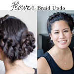 How-To | Flower Braid Updo
