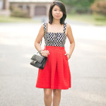Date with NYC | Corset Top + Full Skirt