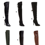 Falling for Thigh High Boots + My Top Fave Selections