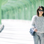 Silver Bells | Fuzzy Sweater + Sequin Pants