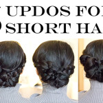 How-To Tutorial | 5 No-Heat Updo Hairstyles for Short Hair