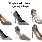 Afternoon Cravings | Shades of Grey Spring Pumps Ahead
