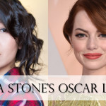Emma Stone's 2015 Oscar Hair + Makeup Look