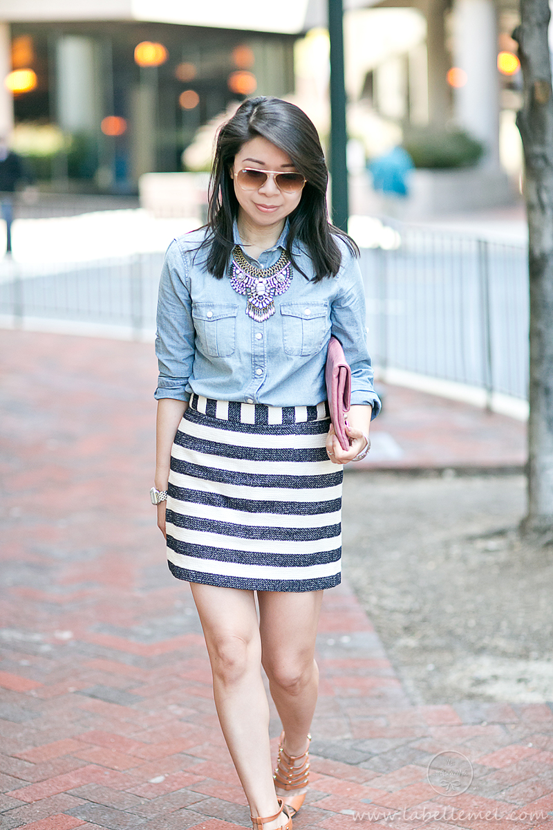 LaBelleMel_Summer_Casual_Chambray_Nautical_Stripes_3