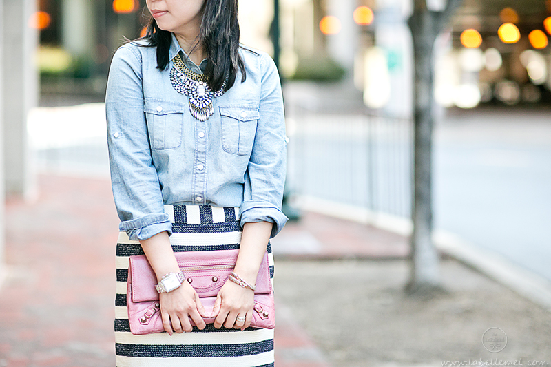 LaBelleMel_Summer_Casual_Chambray_Nautical_Stripes_6