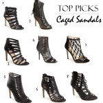 Afternoon Cravings | Top Picks on Caged Sandals for the Summer