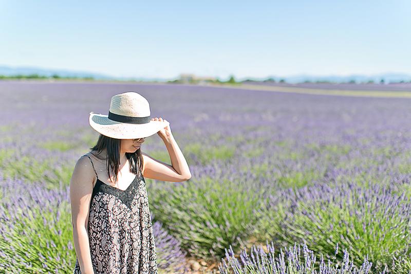 LaBelleMel_Provence_Lavender_Swing_Dress_2