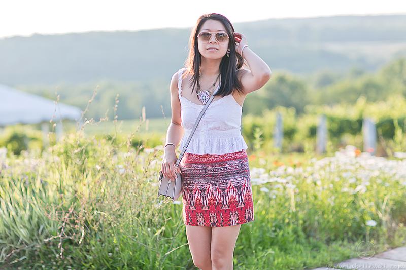 LaBelleMel_Summer_Sunset_White_Eyelet_Sahara_Print_Skirt_3