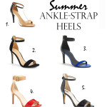 Afternoon Cravings | Summer Ankle Strap Heels