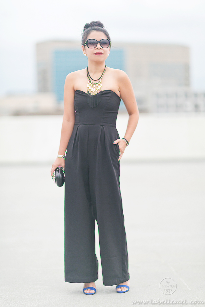 Fall Jumpsuit with LAGOS Black Caviar Collection (3)