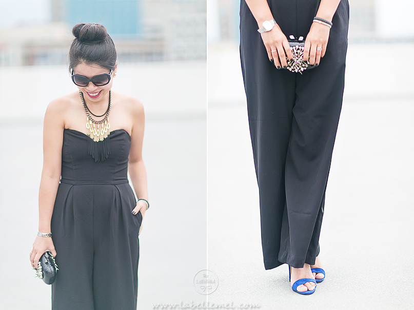 Fall Jumpsuit with LAGOS Black Caviar Collection (2)