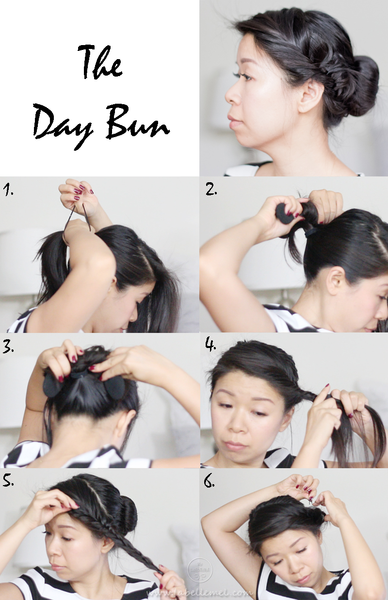 3LaBelleMel_Remington_Perfect_Bun_StepbyStep_Day_ Bun_