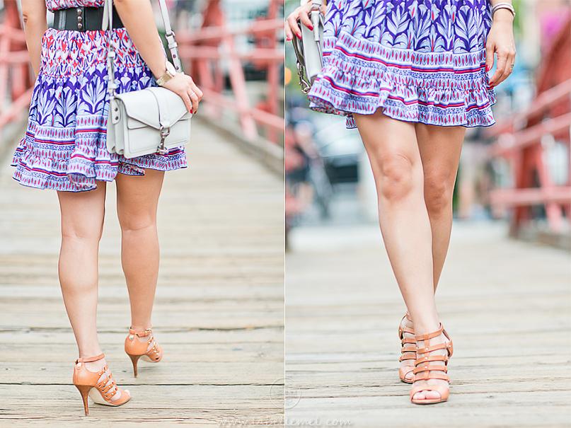 LaBelleMel_Summer_Transition_Off_Shoulder_Printed_Dress_Caged_Sandals_4