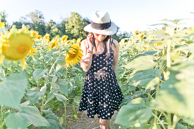 LaBelleMel_Sunflower_Fields_Casual_Daisy_Dress_6