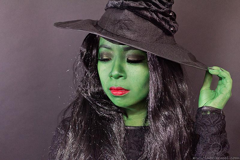 LaBelleMel_WICKED_Elphaba_Halloween_Tutorial_6