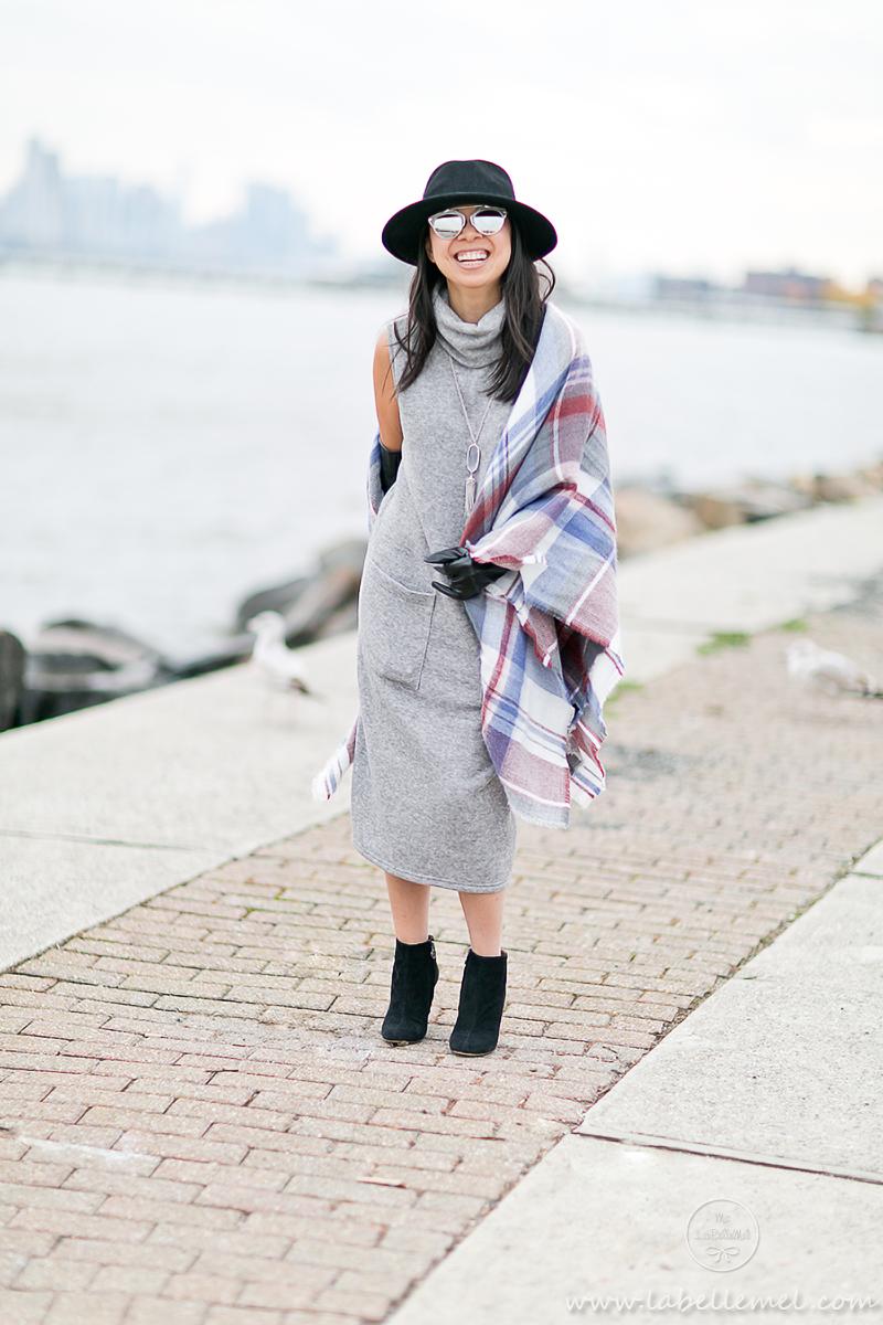 LaBelleMel_Midi_Turtleneck_Dress_Blanket_Scarf_3