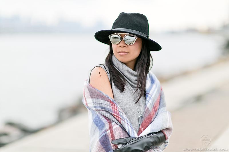 LaBelleMel_Midi_Turtleneck_Dress_Blanket_Scarf_4