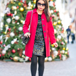 Holiday Red with LAGOS | Sequin Dress