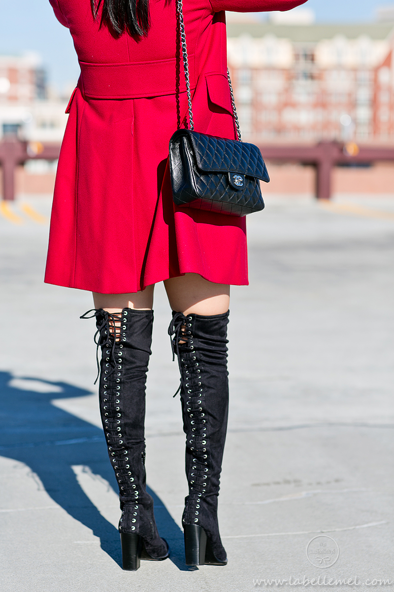 LaBelleMel_Winter_Casual_Red_Coat_Thigh_High_Boots_4