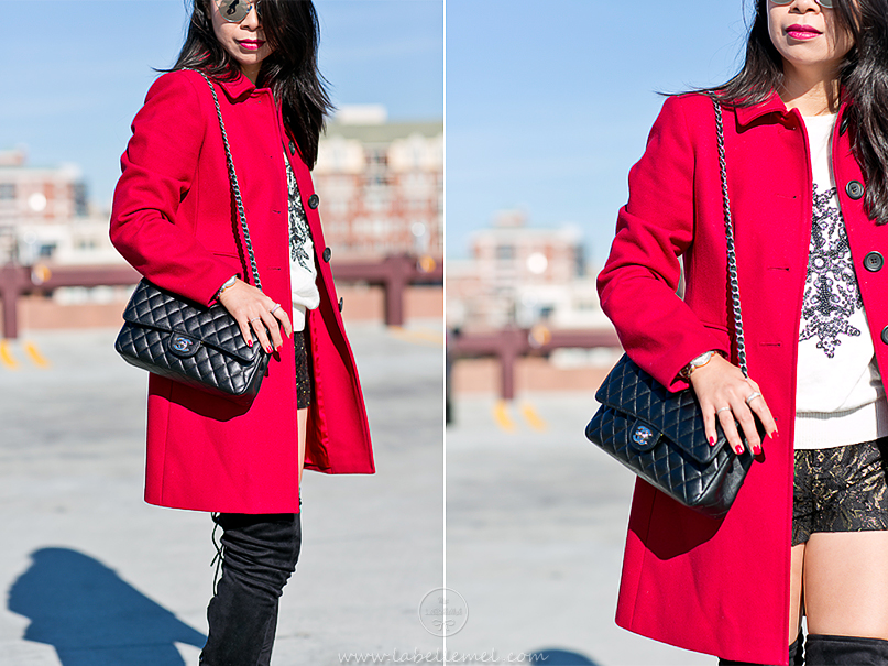 LaBelleMel_Winter_Casual_Red_Coat_Thigh_High_Boots_5