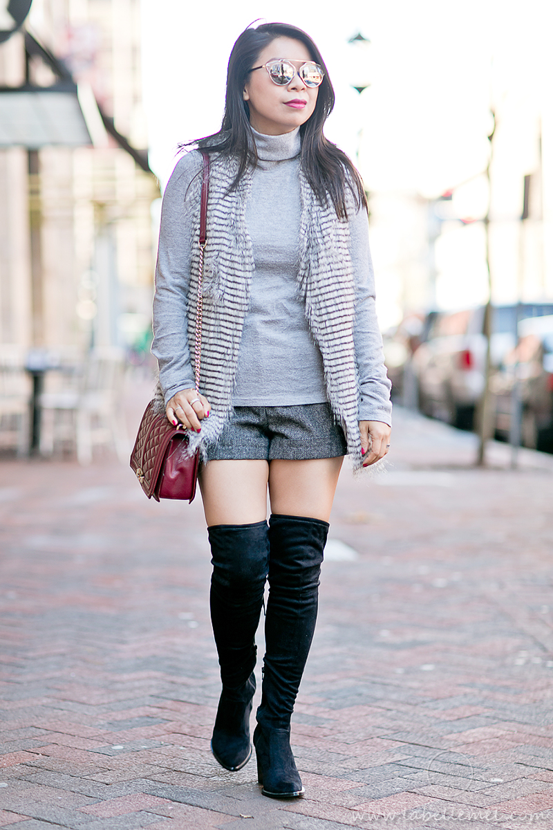LaBelleMel_Winter_Staples_Faux_Fur_Vest_Thigh_High_Boots_2