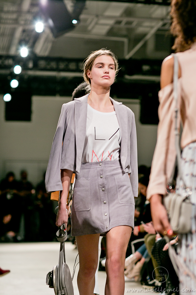 LaBelleMel_NYFW_FW_2016_Rebecca_Minkoff_Mauve_Boucle_Top_Pleather_Skirt_21