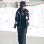 Winter Basics | Black on Black on Black