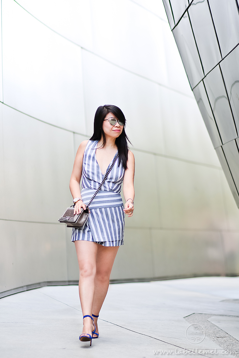 LaBelleMel_DTLA_Striped_Wrapped_Romper_2