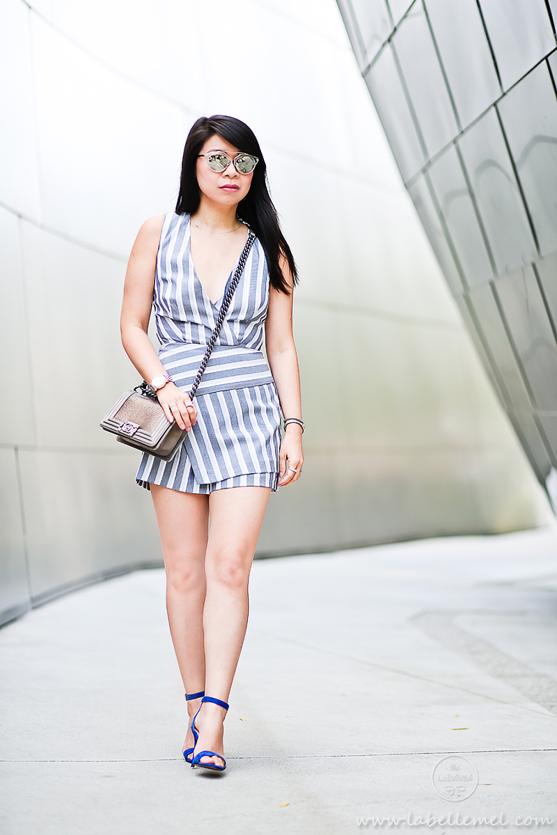 LaBelleMel_DTLA_Striped_Wrapped_Romper_3