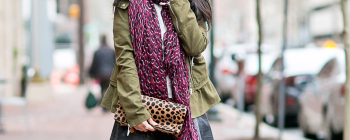 LaBelleMel_Spring_Mix_Hunter_Green_Jacket_Leopard_Accents_1