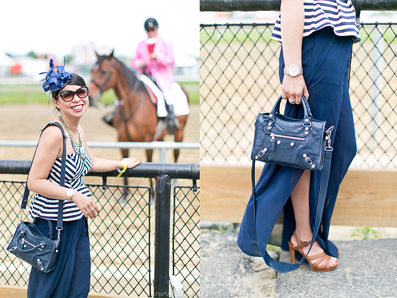 LaBelleMel_Friday_Preakness_Chevron_Peplum_Top_Palazzo_Pants_3
