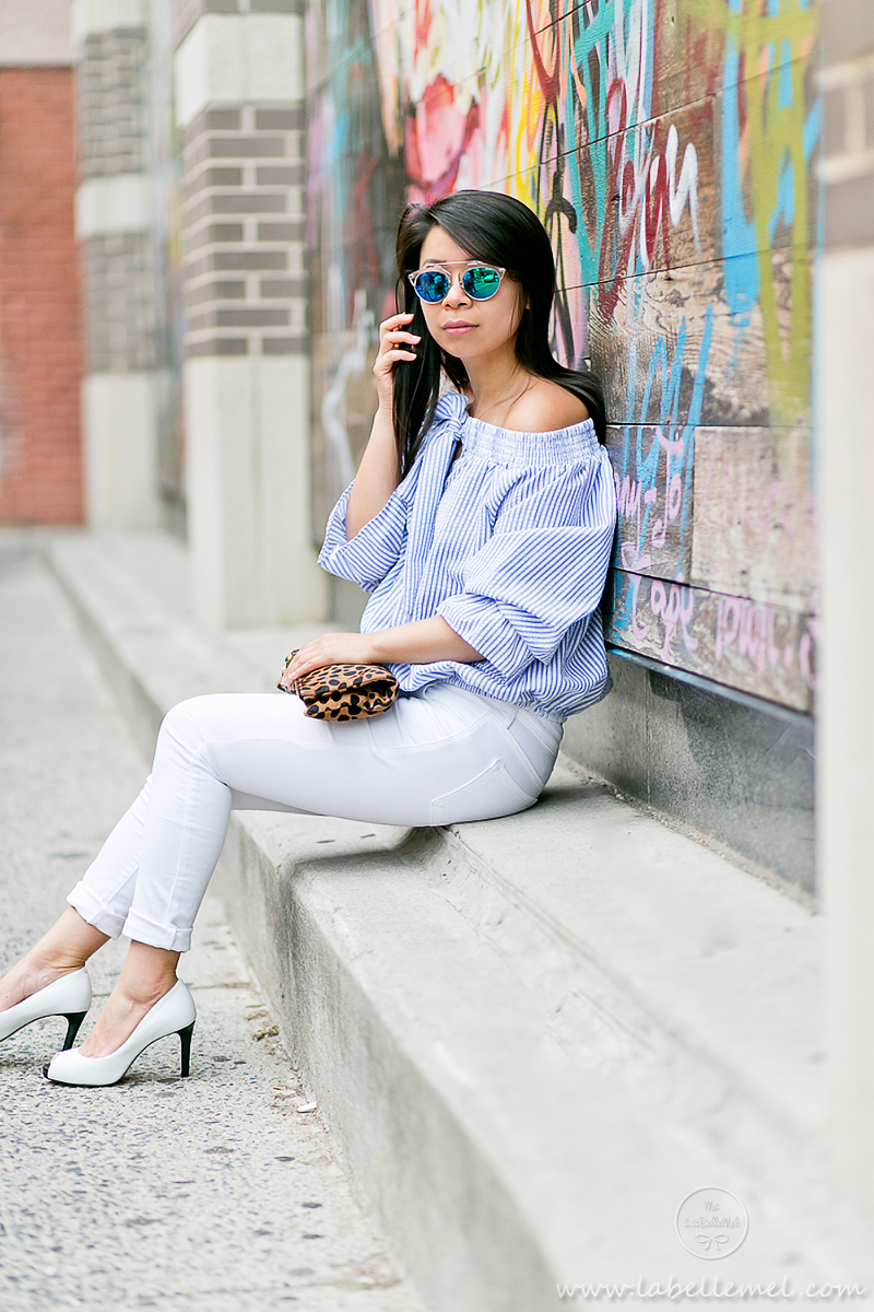 LaBelleMel_Memorial_Day_Mixed_Print_Striped_Off_Shoulder_White_Skinnies_3