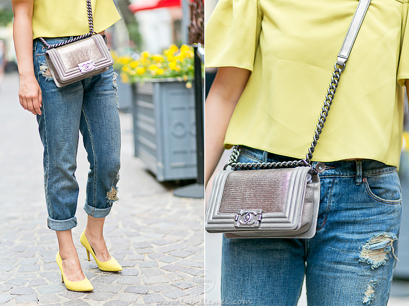 LaBelleMel_Mellow_Yellow_Off_Shoulder_Top_Ripped_Girlfriend_Jeans_4
