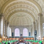 Boston Public Library | Afternoon Tea in Summer Florals