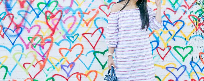 LaBelleMel_Follow_Your_Heart_Off_Shoulder_Striped_Sheath_Dress_1