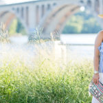 Last Days of Summer | Striped Sleeveless Top + White Linen Pants