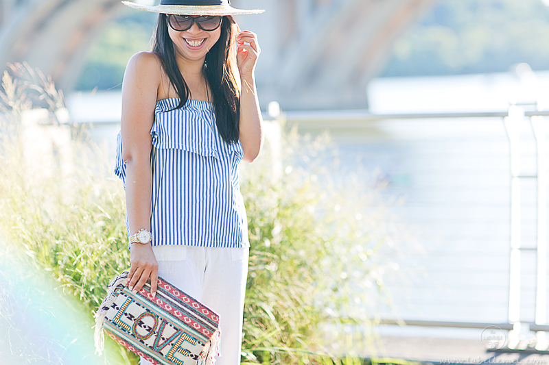 LaBelleMel_Last_Day_of_Summer_Striped_Sleeveless_Top_White_Linen_Pants_4