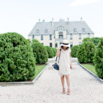 Oheka Castle | Blush-Draped Dress