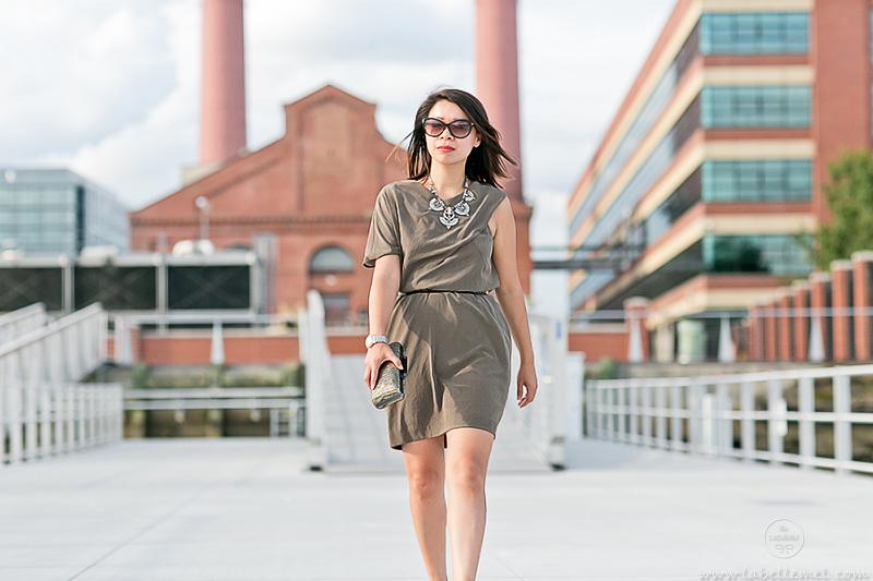 labellemel_feeling_fall_olive_green_asymmetrical_dress_4