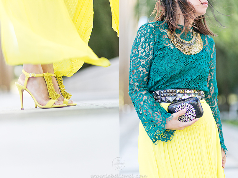 labellemel_jewel_tones_emerald_lace_top_citrine_maxi_skirt_5