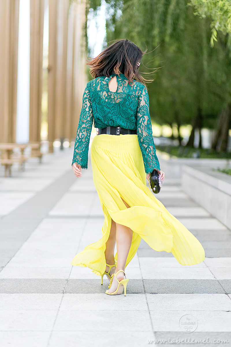 labellemel_jewel_tones_emerald_lace_top_citrine_maxi_skirt_6