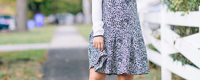 labellemel_housearming_sunday_leopard_drop_waist_dress_rose_collar_blouse_1