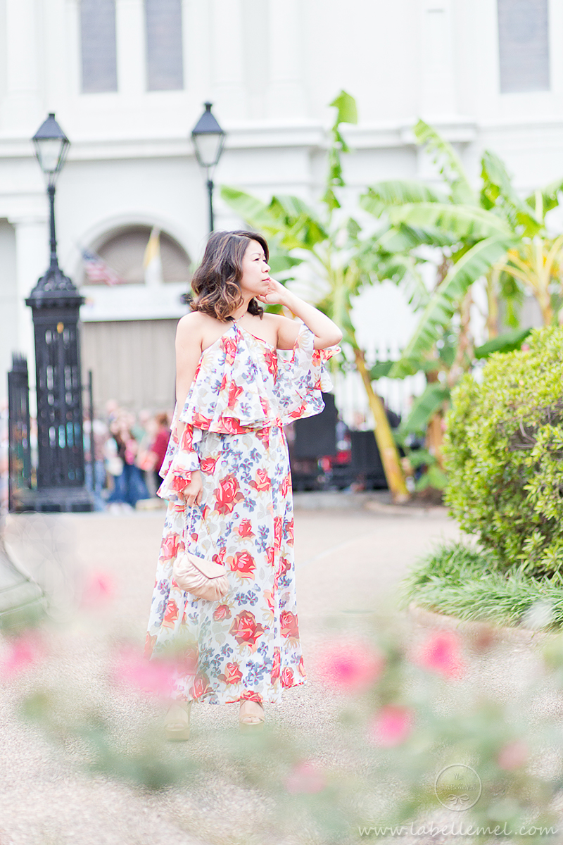 labellemel_nola_wedding_cold_shoulder_floral_maxi_dress_1