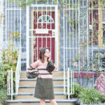 French Quarter | Off-Shoulder Color Block Dress