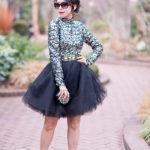 NYE Disco Ball | Sequin Top + Tulle Skirt