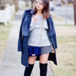 My Winter Staples | Off-Shoulder Sweater + OTK Boots