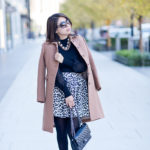 Winter Favorites | Camel Coat + Leopard Skirt